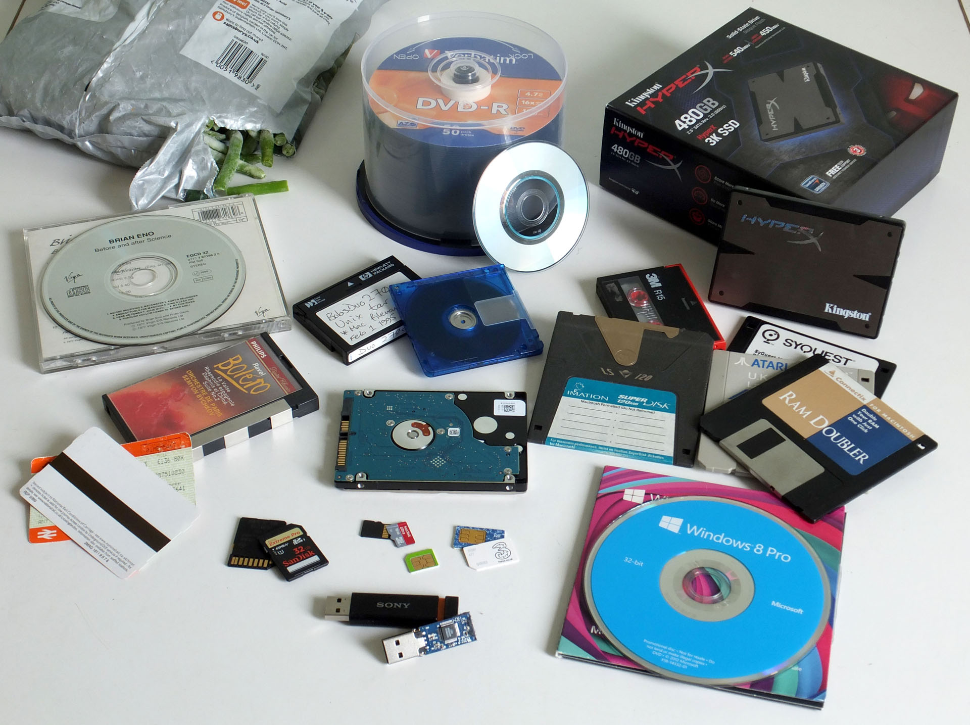 Protect your video and audio tapes, and floppy disks